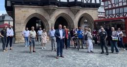 Stadtrundgang in der historischen Altstadt zum Thema Lebendige Zentren