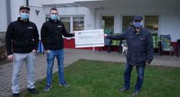 Jungunternehmer Kirchner & Schmidt spenden für Tierheim und Antonius