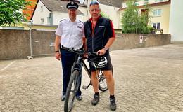 Am Freitag auf dem Hessentag: Fahrrad-Codier-Aktion der Polizei