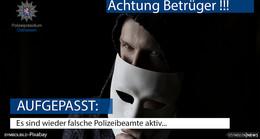 Aktuell Anrufe durch falsche Polizisten im Landkreis Fulda