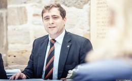 Amtsinhaber Lars Wicke möchte im Gründchen weiter anpacken