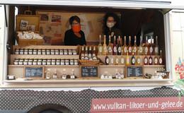 Vogelsberg Originale auf dem ersten Regionalmarkt in der Kreisstadt