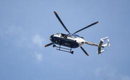 Kein Grund zur Sorge: Polizeihubschraubereinsatz für interne Zwecke unterwegs