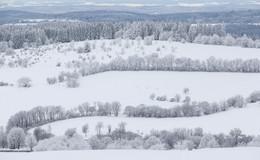 Winterliches Osthessen: Die nächste Ladung Schnee rollt in der Nacht heran