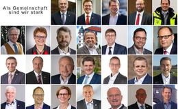 Bürgermeister:innen und Verantwortliche des Landkreises Fulda sagen Danke!