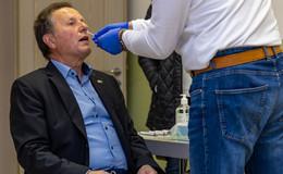Tests ab Freitag: DRK-Bürger-Testzentrum in Bürgerhaus Dietershausen eröffnet