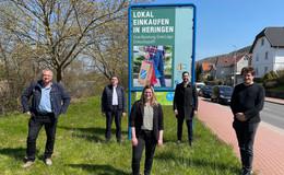Nachhaltig und lokal einkaufen: Kampagne in Heringen gestartet