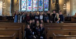 Pilgerfahrt nach London: 24 Schülerinnen und Schüler auf religiöser Reise