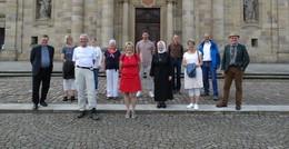 Über 800 Kilometer durch Hessen: Gunter Lutzi macht Halt in Barockstadt