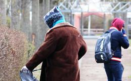 Osterputz im Fuldaer Stadtteil Südend/Kohlhaus trotz widrigen Bedingunge