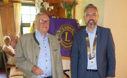 Ronald Poljak übernimmt das Präsidentenamt des Lions-Clubs Fulda