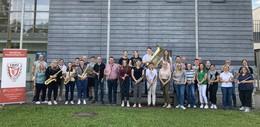 Sinfonisches Blasorchester für Osthessen hat seinen Grundstein gelegt