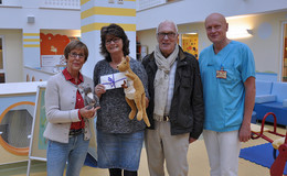 Private Spende in Höhe von 1.000 Euro für die Kinderklinik des Klinikums Fulda
