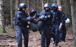 Einsatz im Dannenröder Forst: Bundespolizei kostete über eine Million