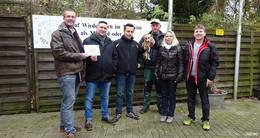 Transportunternehmen TAT spendet 500 Euro an das Hersfelder Tierheim