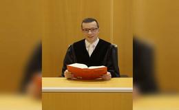 Auf Lebenszeit ernannt: Richter Patrick Krug (31)