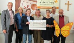 """Brieftaubenzüchter """"Rhönsegler"""" unterstützen Hospiz-Förderverein Fulda"""