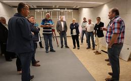 Der Fachausschuss Sport des Kreises Fulda besuchte Projekte in Gersfeld