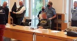 Drei schweigende Ungarn wegen Geldautomatensprengungen vor Gericht