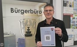 Rathaus der Dreienberg-Gemeinde nutzt Luca-App