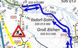 Verkehrliche Einschränkungen auf der K140: Totholz wird entfernt