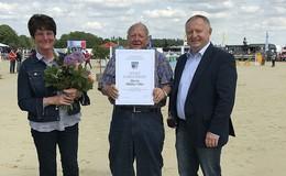 Landkreis Bad Kissingen ehrt Otto Müller mit dem Sport-Ehrenbrief