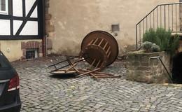 Erneute Sachbeschädigung am Triller vor dem Beinhaus: Zeugen gesucht!