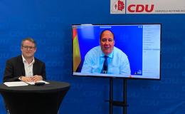 Kanzleramtsminister Prof. Braun im Austausch mit der CDU Hersfeld-Rotenburg