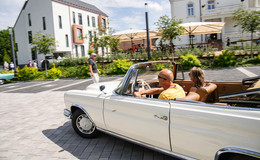 Über 100 Fahrzeuge: Erstes Oldtimer-Treffen in der Villa Raab ein voller Erfolg