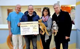 Zebra Group spendet 750 Euro an die Kinderklinik des Klinikums Fulda