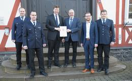 Feuerwehr Herbstein erhält Förderbescheid über 101.250 Euro