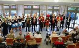 Prinzenmannschaft im Caritas Altenpflegeheim St. Josef