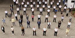 Größter Personalzuwachs seit Bestehen des Polizeipräsidiums Osthessen