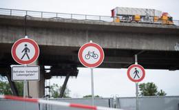 Gesperrte Salzbachtalbrücke: Fliegt ein WEMO-Prüffahrzeug mit in die Luft?