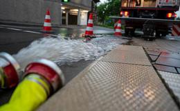 Unwetter sorgt für Feuerwehreinsätze: Keine größeren Schäden zu beklagen