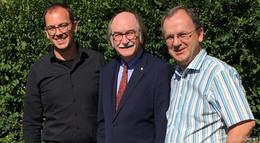 Rainer-Hans Vollmöller tritt wieder als Bürgermeister an