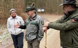 Silvesterwanderung der SPD Lauterbach mit interessanten Begegnungen