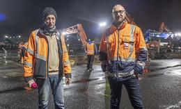 Exklusiv: Nachts auf dem Airport - Bickhardt Bau AG saniert die Rollbahn