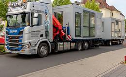 DRK Fulda: Besuchercontainer für Senioreneinrichtungen ermöglichen Kontakt