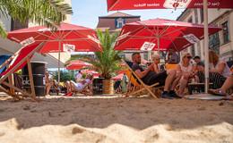 Strandfeeling in der Barockstadt: Stadtstrand hat einen Nerv getroffen