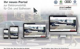 atzert:weber Gruppe erweitert Online-Angebot auf Elektromobilität