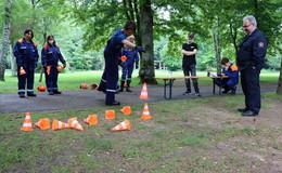 Spiel ohne Grenzen der Kreisjugendfeuerwehr: 15 Mannschaften dabei