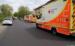 Fünf Verletzte bei Küchenbrand in Carl-Schurz-Straße