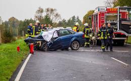 Erneut: 18-Jähriger bei Niederzell tödlich verunglückt - Frontalcrash auf L3329