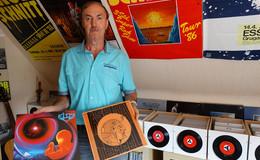 Ein kleines Imperium an Schallplatten: 6.500 LP's und 3.000 Singles