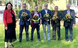 An der Richard-Müller-Schule: Fünffacher Abschied in feierlichem Rahmen