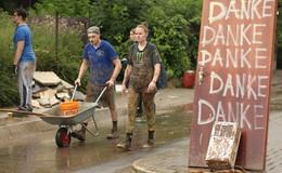 DRK-Hessen mit 715 Kräften in Hochwassergebieten im Einsatz