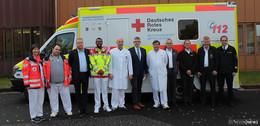 Fünf neue Intensivtransportwagen für Patienten in kritischem Zustand
