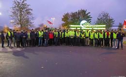 Auch am Freitag geht der Streik weiter: Busse bleiben stehen