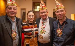 Großes Wiedersehen: Ex-Prinzenmariechen-Adjutanten Treffen der FKG